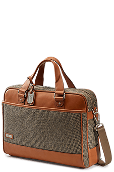 Hartmann Tweed Belting Serviette M Natural Tweed
